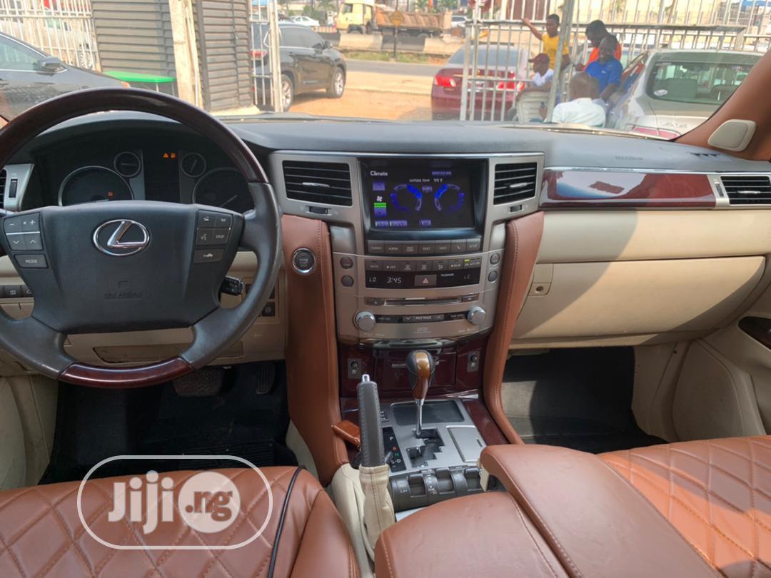 Lexus LX 2014 570 Base Black   Cars for sale in Ikeja, Lagos State, Nigeria