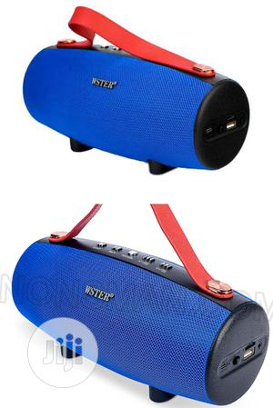 Wster WS 1838 Potable Wireless Bluetooth Speaker. Ws-1838   Audio & Music Equipment for sale in Lagos State, Ikeja