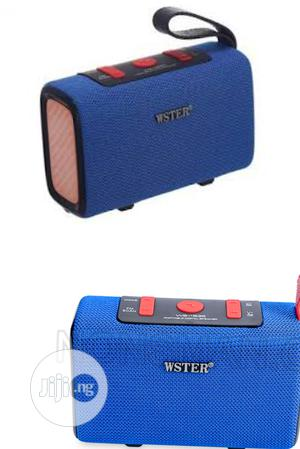 Ws-1835 Wster Bluetooth Potable Wireless Speaker. Ws 1835   Audio & Music Equipment for sale in Lagos State, Ikeja