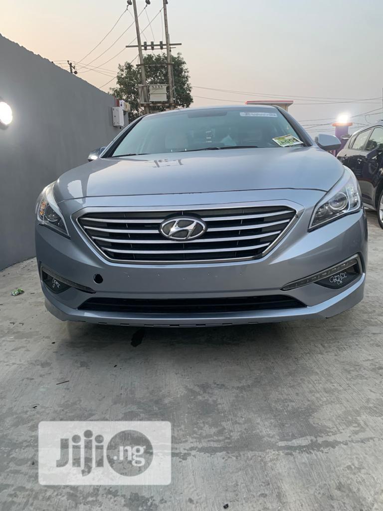 Hyundai Sonata 2015 Gray | Cars for sale in Ogba, Lagos State, Nigeria