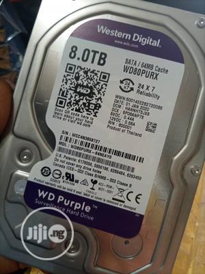 Western Digital Purple Surveillance 8 TB   Computer Hardware for sale in Lagos State, Ikeja