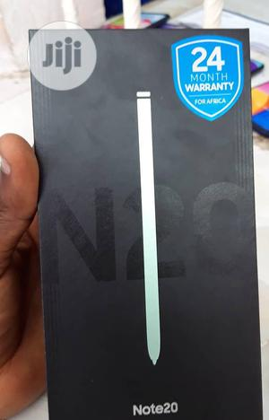 New Samsung Galaxy Note 20 256 GB Black   Mobile Phones for sale in Lagos State, Alimosho