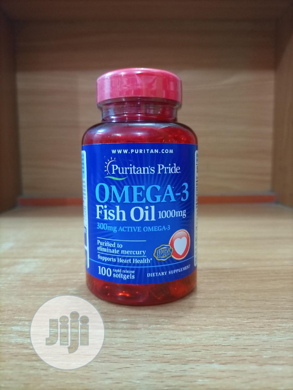 Puritan Pride Omega 3 Fish Oil 1000MG X 100