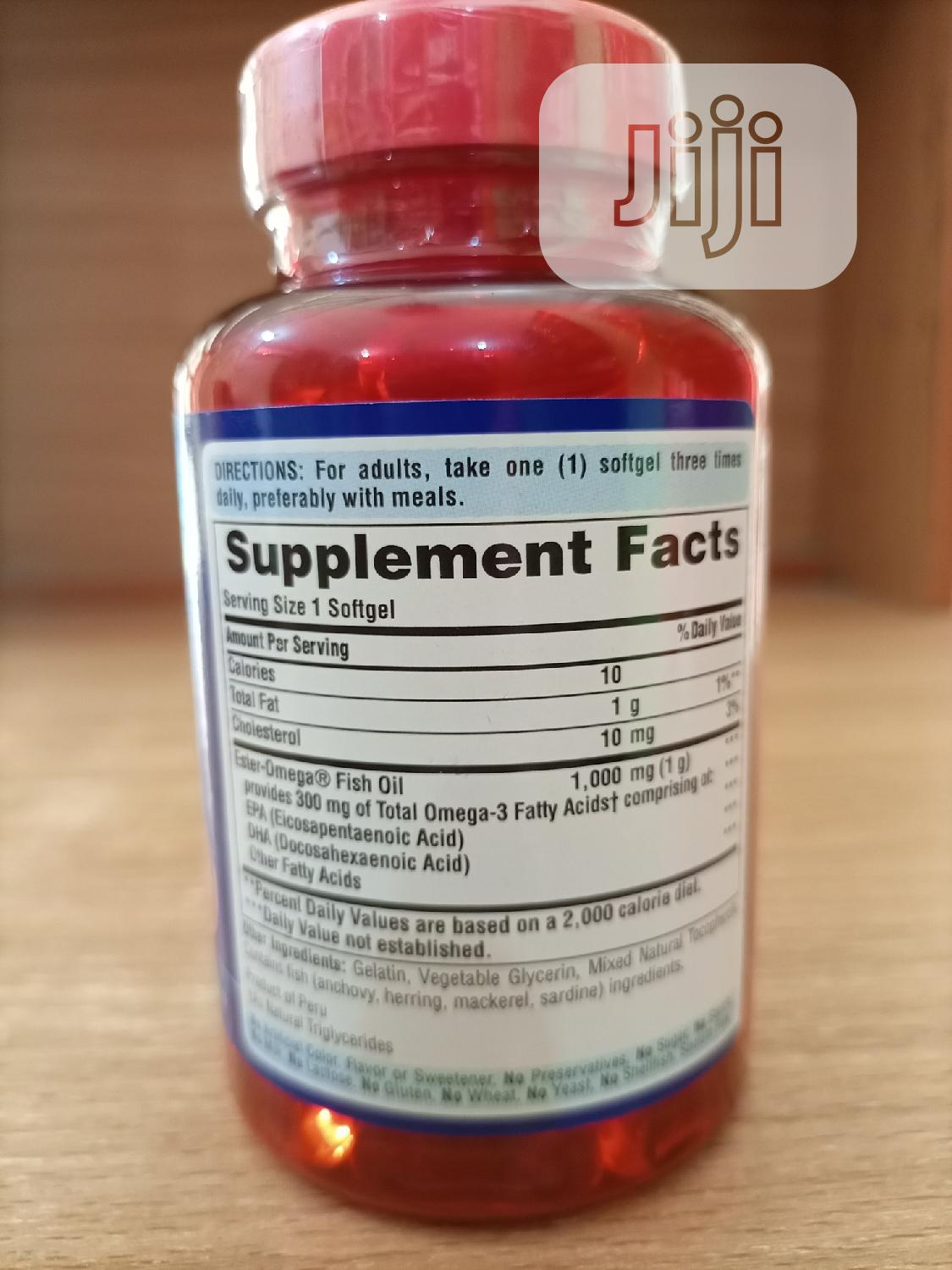 Puritan Pride Omega 3 Fish Oil 1000MG X 100   Vitamins & Supplements for sale in Surulere, Lagos State, Nigeria