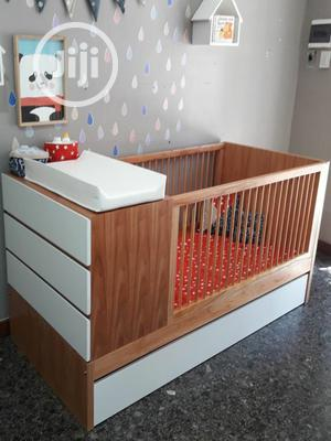 BABY COT With Storage Cabinets | Children's Furniture for sale in Lagos State, Ipaja