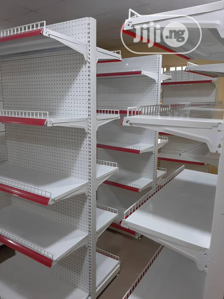 Double Supermarket Shelf | Store Equipment for sale in Jabi, Abuja (FCT) State, Nigeria