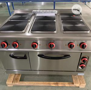 6 Burners Electric Cooker With Oven | Restaurant & Catering Equipment for sale in Abuja (FCT) State, Jabi
