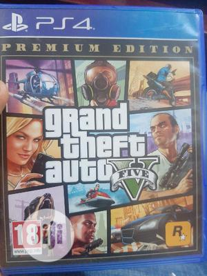 Ps4 GTA v - Grand Theft Auto 5 | Video Games for sale in Lagos State, Agege