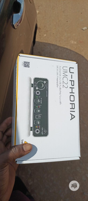 Behringer UMC22 Soundcard | Musical Instruments & Gear for sale in Ikeja, Lagos State, Nigeria