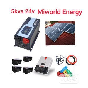 5kva 24v Inverter+Solar System   Solar Energy for sale in Lagos State, Lekki