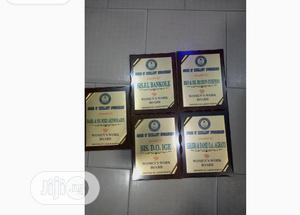 Hard Wood Award Plaque | Arts & Crafts for sale in Lagos State, Surulere