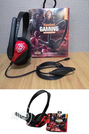 Gm-006 Gaming Headset. AKZ Gm 006 Gaming Headset   Headphones for sale in Lagos State, Ikeja