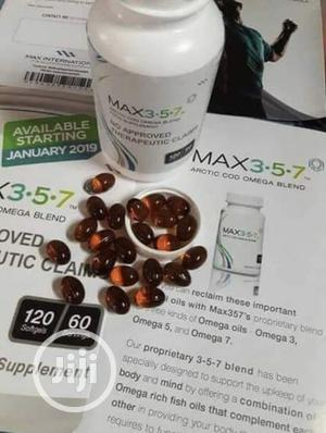 Max 357 Arctic Cod Omega Blend (PAYMENT ON DELIVERY) | Vitamins & Supplements for sale in Lagos State, Ajah