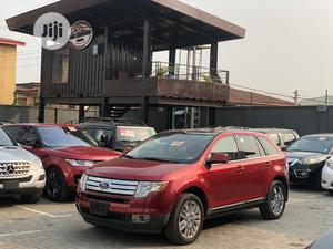 Ford Edge 2007 SE 4dr AWD (3.5L 6cyl 6A) Red | Cars for sale in Lagos State, Ogudu