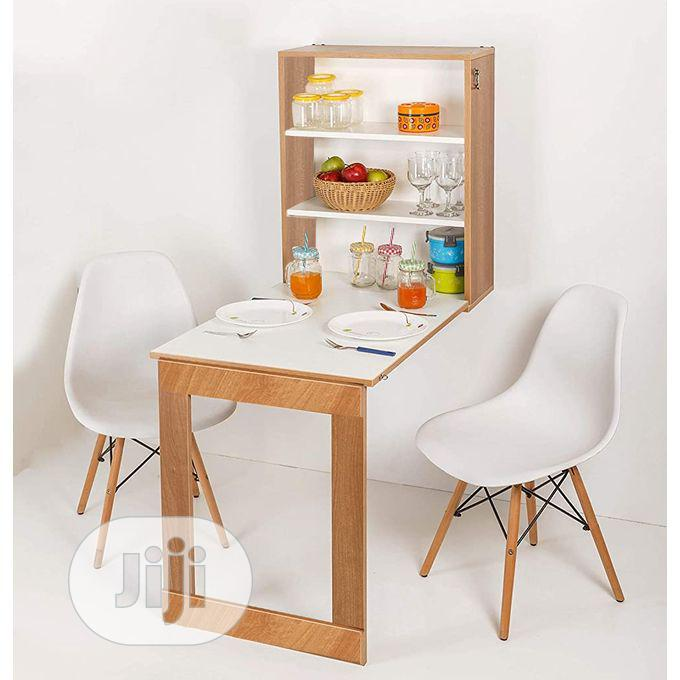 Dining Table Foldable Wall Mounted, Folding Dining Room Chairs