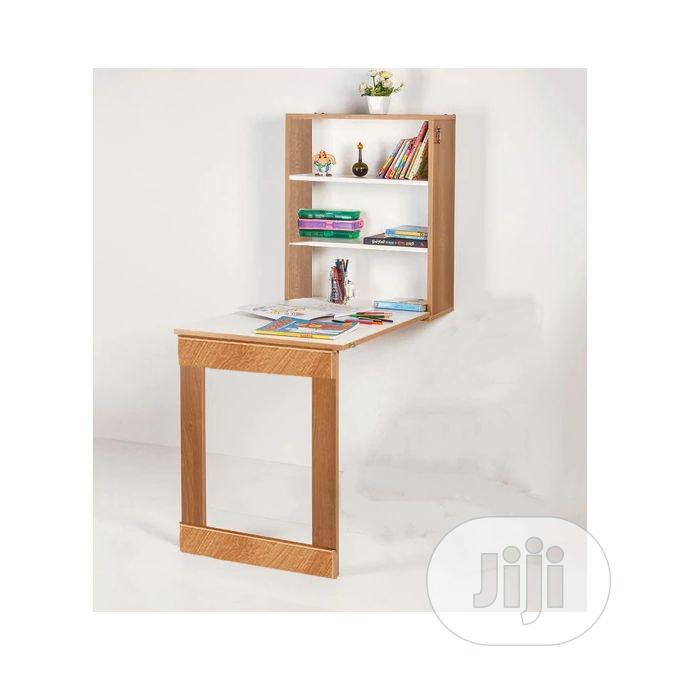 Foldable Wall Mounted Dining Table Storage Study Cabinet   Furniture for sale in Victoria Island, Lagos State, Nigeria