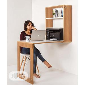 Foldable Wall Mounted Study Dining Table Cabinet | Furniture for sale in Lagos State, Ajah