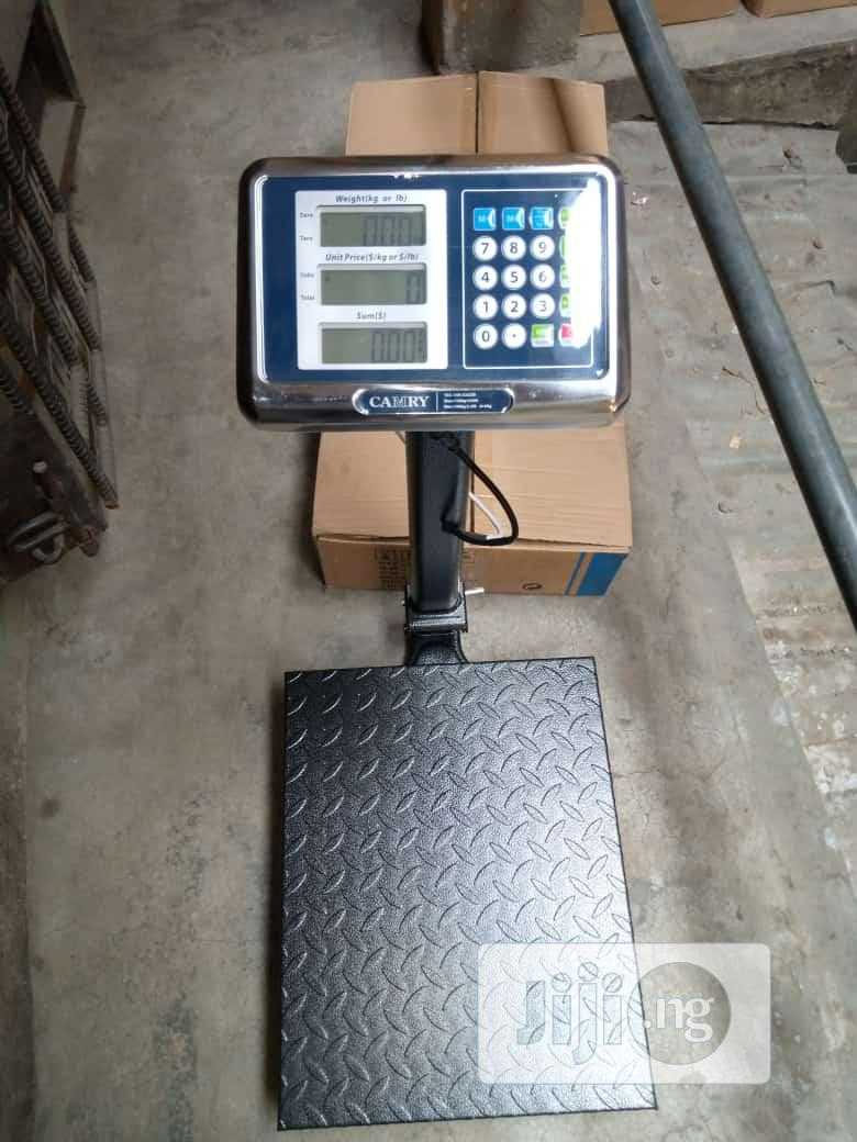 150kg Double Display Camry Platform Digital Weighing Scale