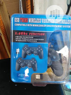 USB Twins Wireless Vibration Controller | Video Game Consoles for sale in Lagos State, Ikeja