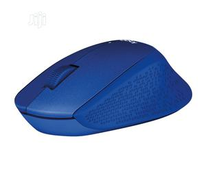Logitech Mouse Wireless M330 Silent Plus-Blue   Computer Accessories  for sale in Lagos State, Ikeja