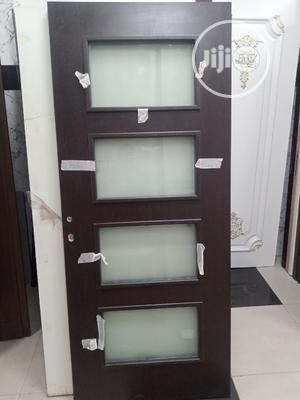 Quality Turkish Wood With Glass Door   Doors for sale in Lagos State, Orile