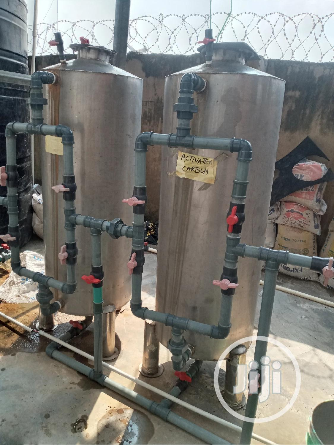 Water Treatment Plant Stainless Tank | Manufacturing Equipment for sale in Orile, Lagos State, Nigeria