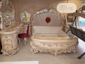Royal Bed Frame and Mirror Stand | Furniture for sale in Lagos State, Ojo