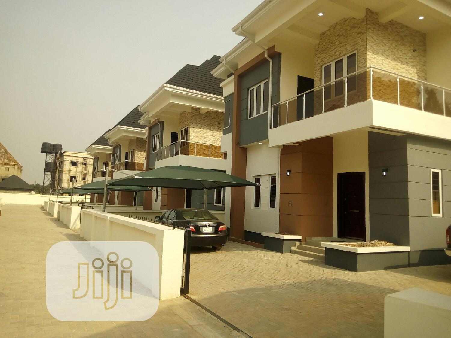Newly Built 4 Bedroom Duplex Wt BQ, Security House for Rent
