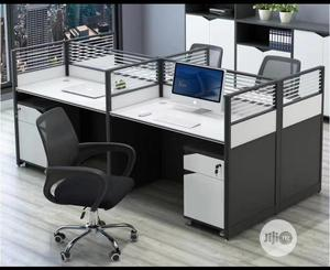 Gray and White Table for 4 People   Furniture for sale in Lagos State, Yaba