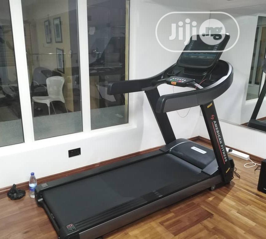 Archive: 4hp Treadmill American Fitness