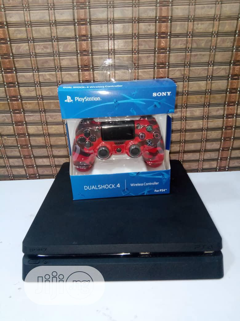 Playstation 4 Slim + 3 Games and 5 Trial Games   Video Game Consoles for sale in Gwarinpa, Abuja (FCT) State, Nigeria