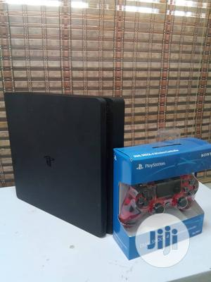 Ps 4 Slim Console + 3games + 5 Trial Games | Video Game Consoles for sale in Abuja (FCT) State, Wuse