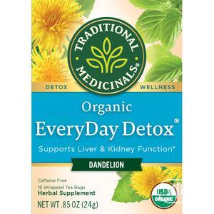 Traditional Medicinals Organic Everyday Detox Dandelion Tea   Vitamins & Supplements for sale in Lagos State, Lekki