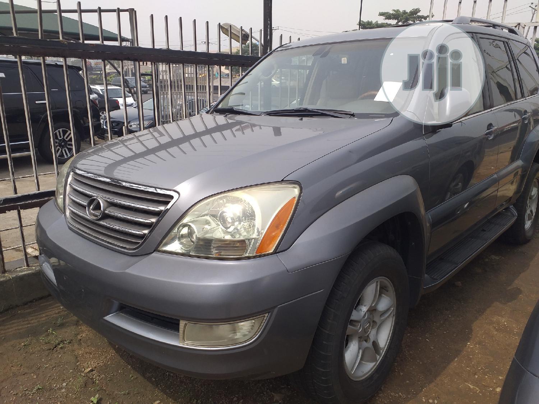 Lexus GX 2003 Gray   Cars for sale in Ikeja, Lagos State, Nigeria