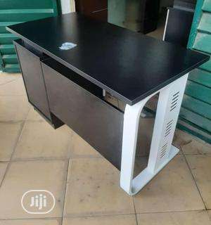 Black 4ft Table With Metal Legs   Furniture for sale in Lagos State, Victoria Island