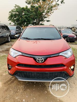 Toyota RAV4 2017 SE AWD (2.5L 4cyl 6A) Red | Cars for sale in Abuja (FCT) State, Jabi