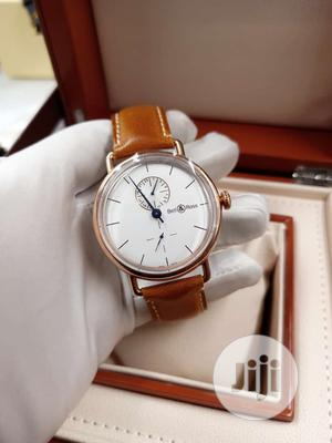 Bell Rose Rose Gold Leather Strap Watch | Watches for sale in Lagos State, Lagos Island (Eko)