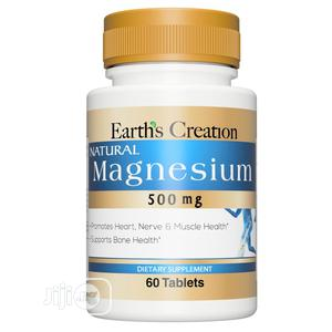Earth's Creation Magnesium 500mg | Vitamins & Supplements for sale in Lagos State, Ojo