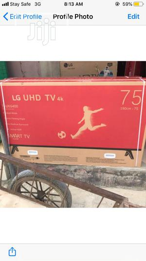 LG 75 Inches Smart 4K TV | TV & DVD Equipment for sale in Lagos State, Ojo