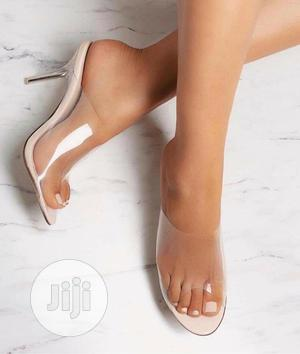 Ladies Transparent Heels | Shoes for sale in Lagos State, Lekki