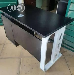 1.4 Meters Black Office Table   Furniture for sale in Lagos State, Ikoyi