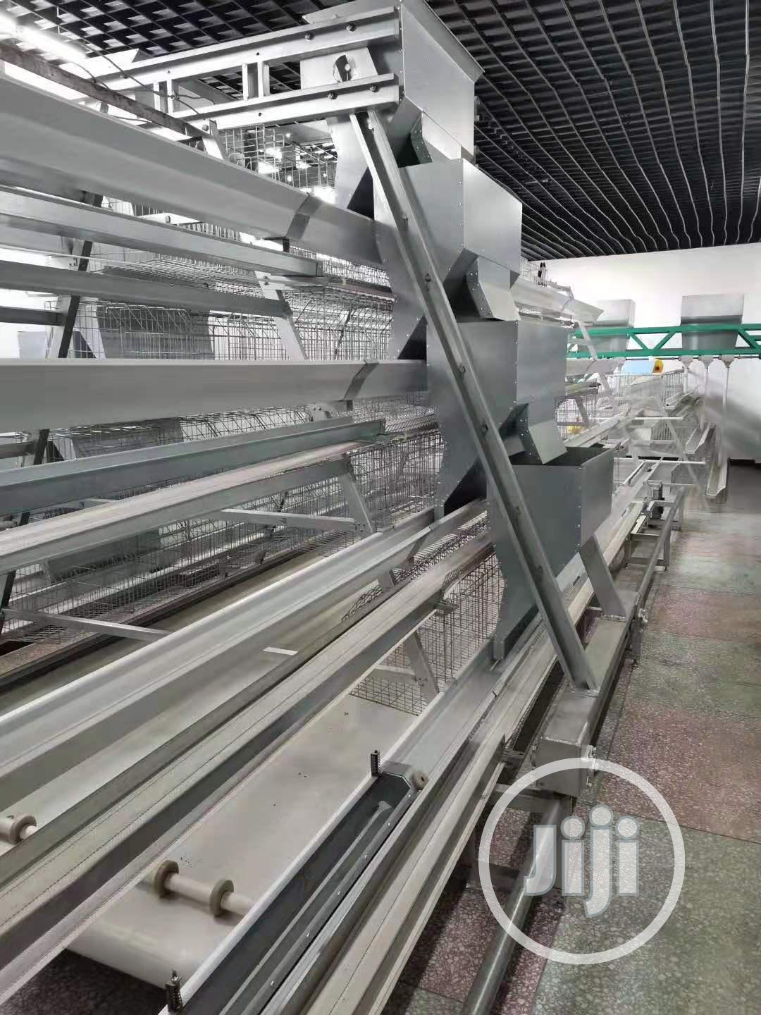 Automatic Poultry Cage / China Factory Poultry Cages | Farm Machinery & Equipment for sale in Oyo, Oyo State, Nigeria