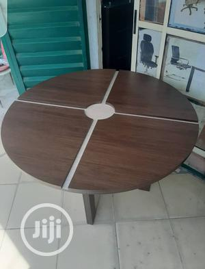 4ft Brown Round Meeting Table for 4people   Furniture for sale in Lagos State, Lekki