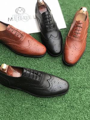 Black and Brown Brouges Shoes | Shoes for sale in Lagos State, Mushin