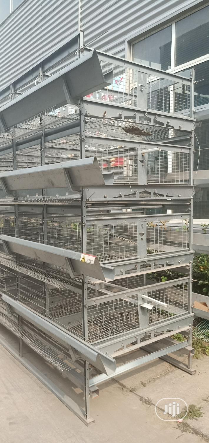 China Factory Poultry Cage / Automatic Poultry Cages | Farm Machinery & Equipment for sale in Ukanafun, Akwa Ibom State, Nigeria