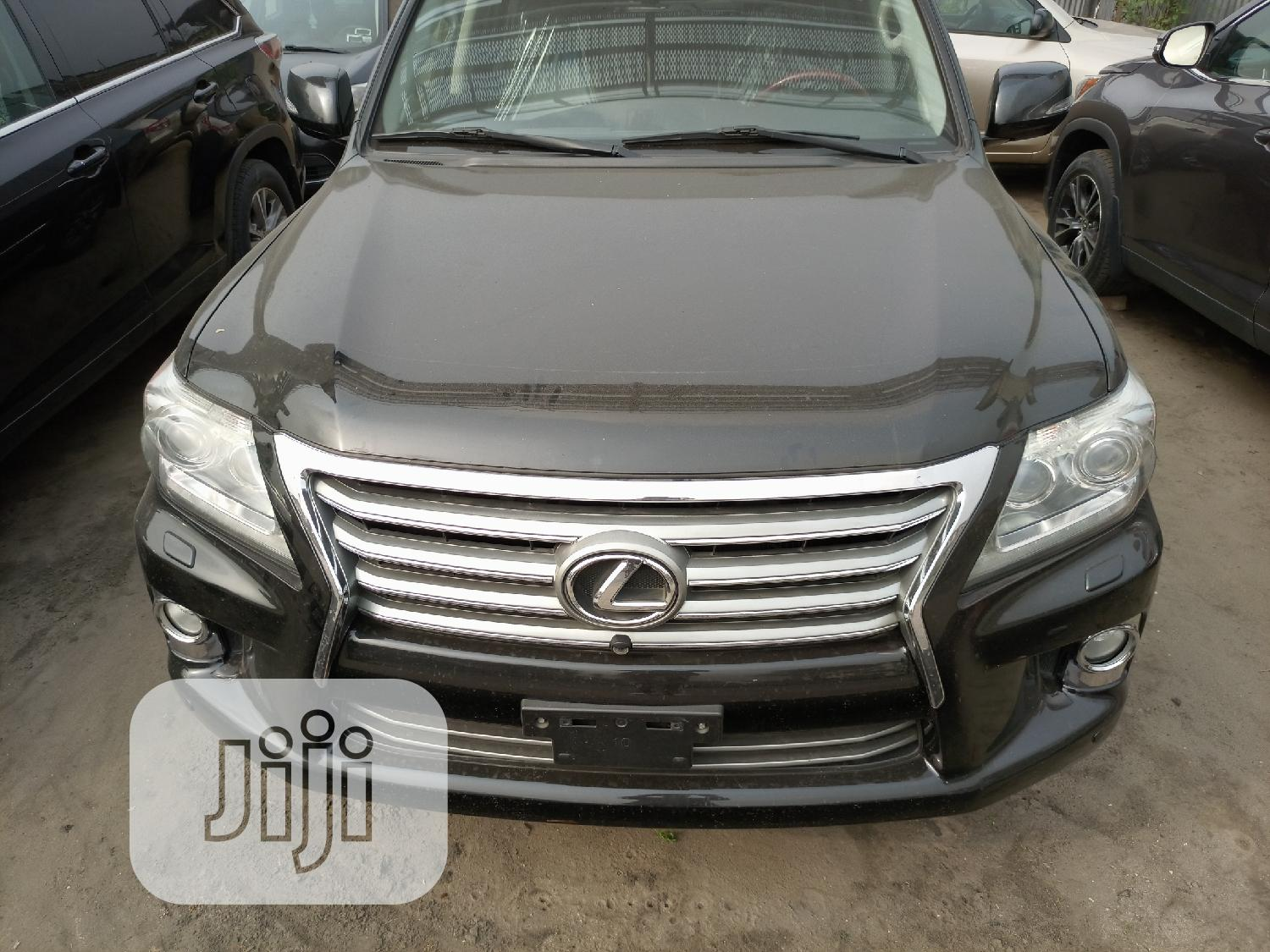 Lexus LX 2013 570 Base Black | Cars for sale in Port-Harcourt, Rivers State, Nigeria