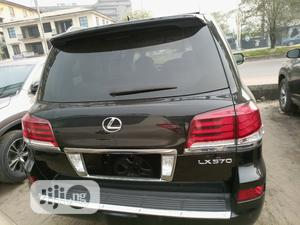 Lexus LX 2013 570 Base Black | Cars for sale in Rivers State, Port-Harcourt