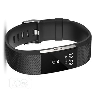 Fitbit Charge 2 Smart Watch-Black | Smart Watches & Trackers for sale in Lagos State, Ikeja