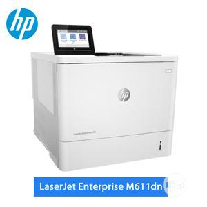 Laserjet Enterprise M611dn Printer | Printers & Scanners for sale in Lagos State, Ikoyi