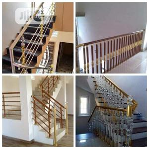 New Design Turkish Handrail With Stallation | Building Materials for sale in Abuja (FCT) State, Lugbe District
